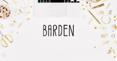 Creativetacos Barden [1 Font]   The Fonts Master