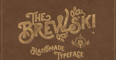 Brewski Textured [1 Font] | The Fonts Master