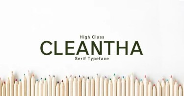 Creativetacos Cleantha [4 Fonts] | The Fonts Master