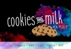 Cookies And Milk [6 Fonts] | The Fonts Master