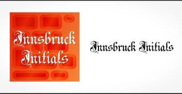 Innsbruck Initials [1 Font] | The Fonts Master