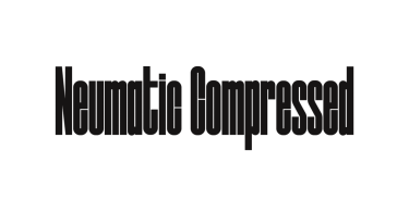 Neumatic Compressed [8 Fonts] | The Fonts Master