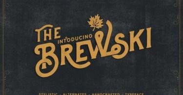 Brewski (Western Lake) [1 Font] | The Fonts Master