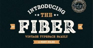 Fiber [4 Fonts] | The Fonts Master