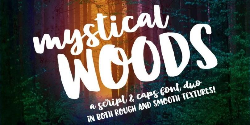 Mystical Woods [4 Fonts]   The Fonts Master