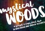Mystical Woods [4 Fonts] | The Fonts Master