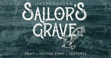 Sailor'S Grave [2 Fonts] | The Fonts Master