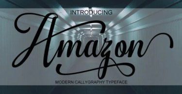 Amazon [1 Font] | The Fonts Master