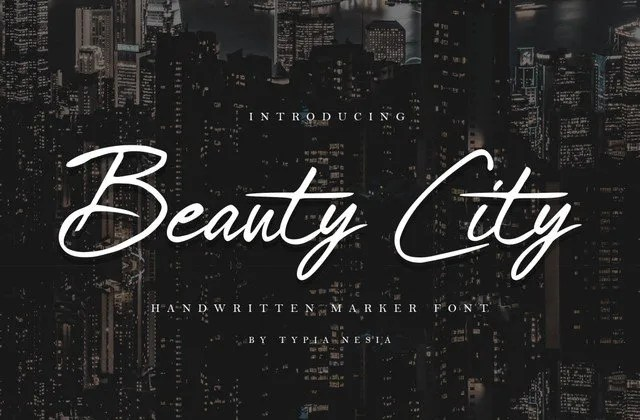 Beauty City [1 Font] | The Fonts Master