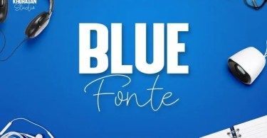 Blue Fonte [2 Fonts] | The Fonts Master