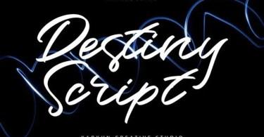 Destiny [1 Font]   The Fonts Master