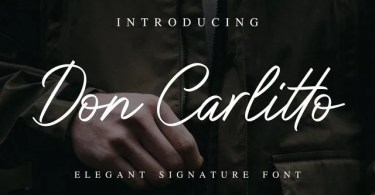 Don Carlitto [1 Font]   The Fonts Master
