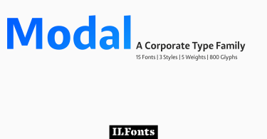 Modal Super Family [15 Fonts] | The Fonts Master