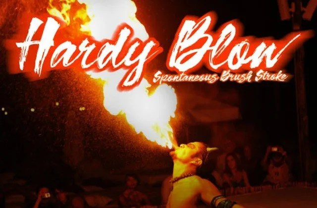 Hardy Blow [1 Font] | The Fonts Master