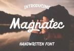 Magnatec [1 Font] | The Fonts Master
