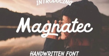 Magnatec [1 Font] | The Fonts Master