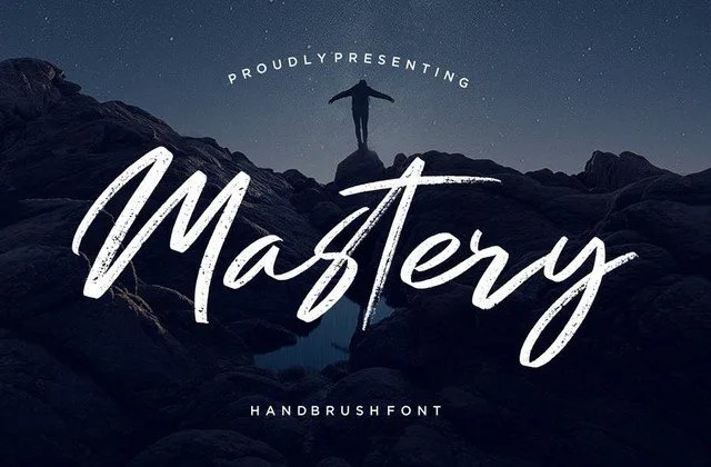 Mastery [1 Font]   The Fonts Master