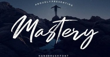 Mastery [1 Font] | The Fonts Master