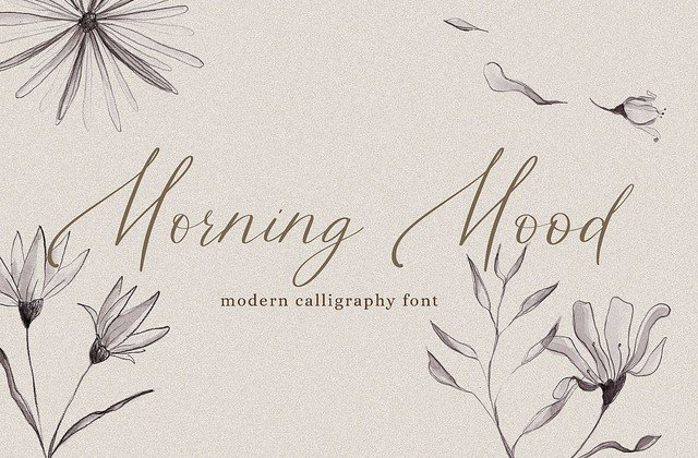 Morning Mood [1 Font] | The Fonts Master