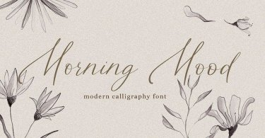 Morning Mood [1 Font] | The Fonts Master