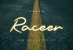 Raceer [1 Font] | The Fonts Master