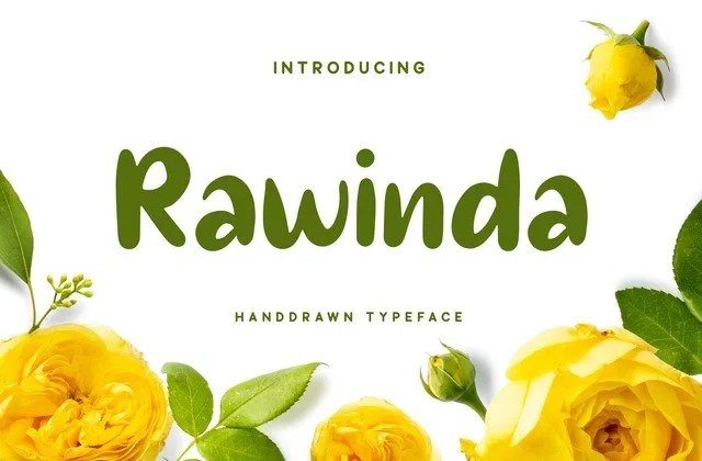 Rawinda [1 Font]   The Fonts Master