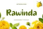 Rawinda [1 Font] | The Fonts Master