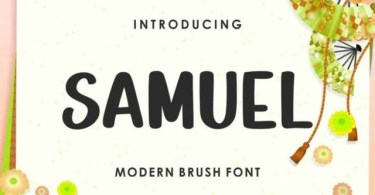 Samuel [1 Font] | The Fonts Master