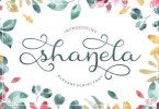 Shanela [1 Font] | The Fonts Master