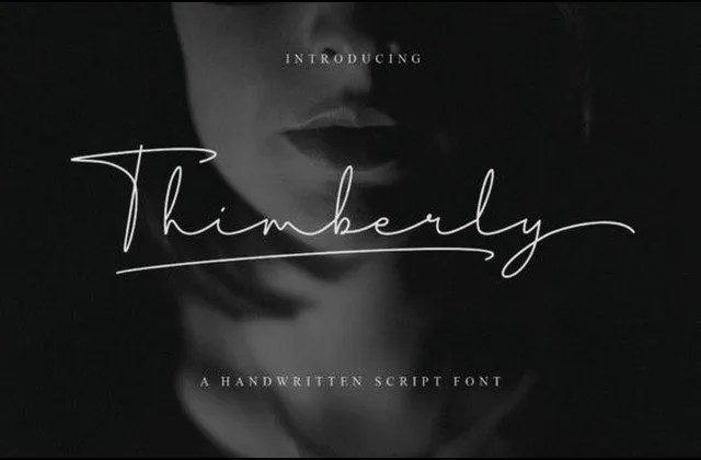 Thimberly [1 Font] | The Fonts Master