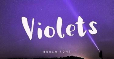 Violets [1 Font] | The Fonts Master