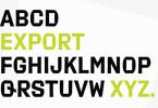 Export Super Family [2 Fonts] | The Fonts Master