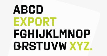 Export Super Family [2 Fonts] - The Fonts Master