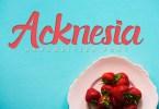 Acknesia [1 Font] | The Fonts Master