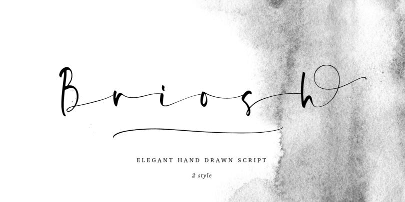 Briosh [2 Fonts] | The Fonts Master