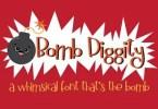 Bomb Diggity [1 Font] | The Fonts Master