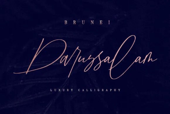 Brunei Darussalam [1 Font] | The Fonts Master