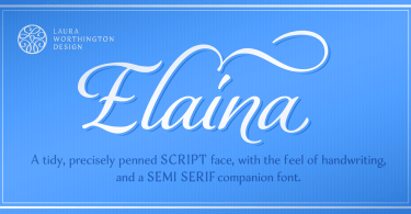 Elaina [2 Fonts] | The Fonts Master
