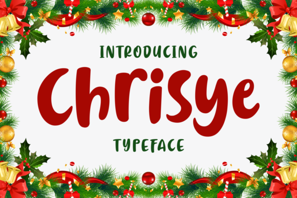 Chrisye [1 Font] | The Fonts Master