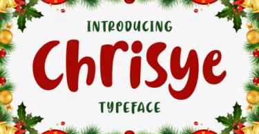 Chrisye [1 Font] | The Fonts Master
