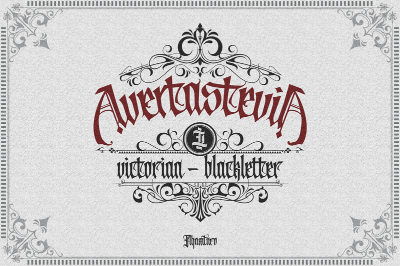 Avertastevia [3 Fonts+Extras]   The Fonts Master