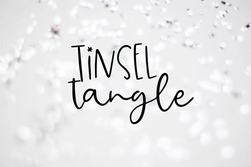 Tinsel Tangle [1 Font] | The Fonts Master