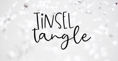 Tinsel Tangle [1 Font] | The Fonts Master