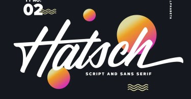 Hatsch Family [2 Fonts] | The Fonts Master