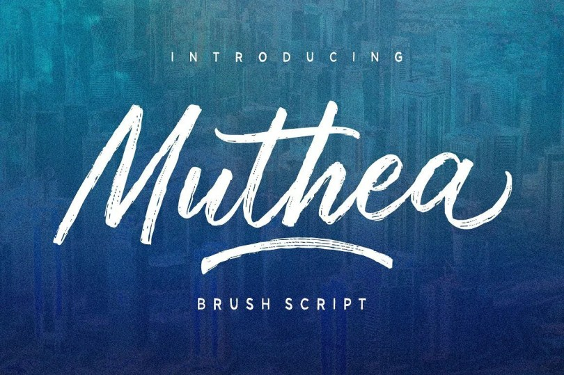 Muthea [2 Fonts]   The Fonts Master