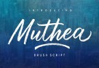 Muthea [2 Fonts] | The Fonts Master