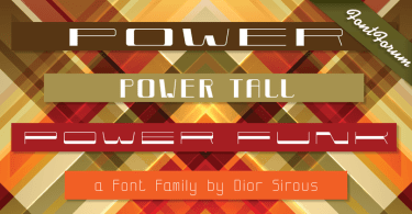 Power [4 Fonts] | The Fonts Master