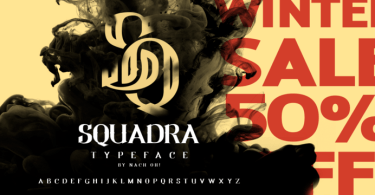Noh Squadra [1 Font] | The Fonts Master