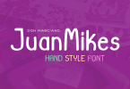 Juanmikes [1 Font] | The Fonts Master