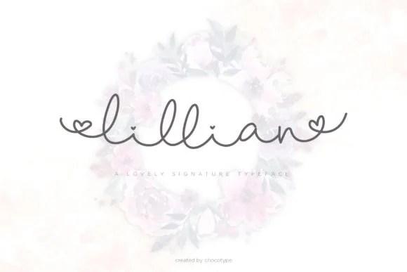 Lillian Script [2 Fonts] | The Fonts Master